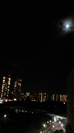 Hotel Springs Makuhari: 9th floor's view
