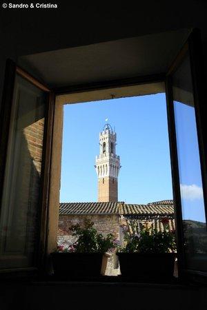 Vista dall'Hotel Centrale