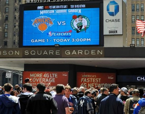 Section 208 Picture Of Madison Square Garden New York City Tripadvisor