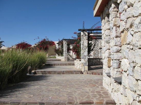 Rossmund Lodge: Walkways