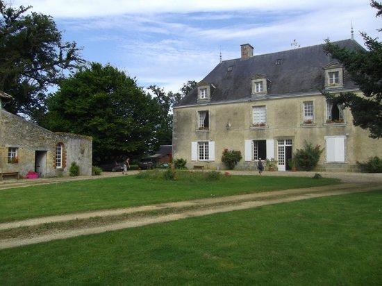Château de Boiscoursier : Vue du bâtiment principal