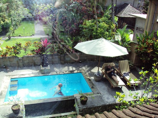 Bali Breeze Bungalows: View from my bedroom