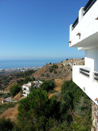 The Urban Villa: très belle vue de la terrasse de la chambre