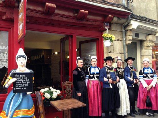 Crêperie Au Vieux Vannes : les bretons aiment la crêperie