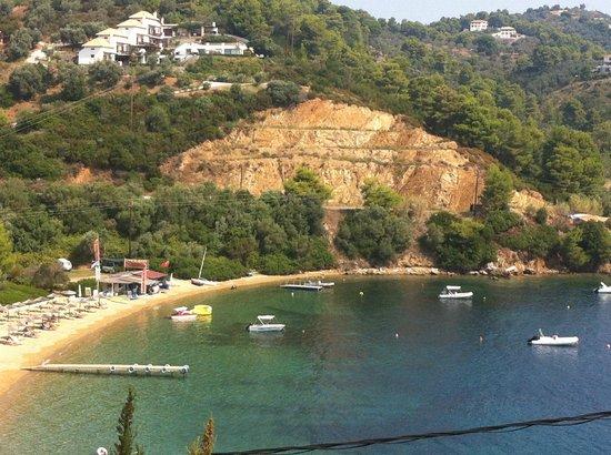 Kanapitsa Mare Hotel & Spa: sea-view