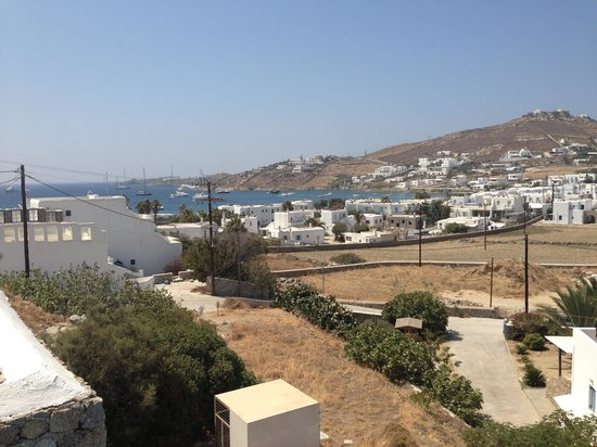 Mykonos Essence Hotel: The balkony
