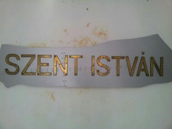 Kastel: Szent Istvàn battle ship's original part