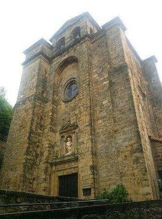 Pasajes de San Juan (Pasai Donibane): iglesia
