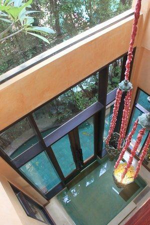 The Baray Villa : view from our bedroom