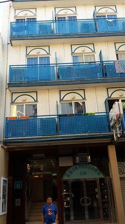 Hotel Internacional: vista del hotel