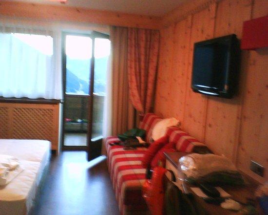 Hotel Alaska: Particolare della camera , con TV 32 pollici