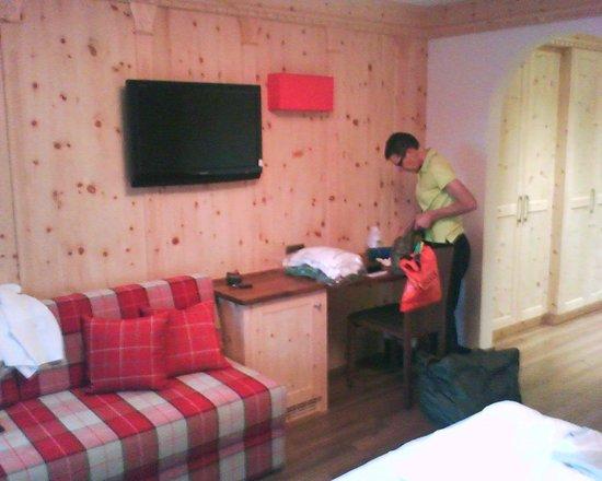 Hotel Alaska: Altro particolare della camera, molto accattivante