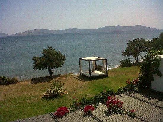 Barcelo Hydra Beach Resort : Playa desde el Spa