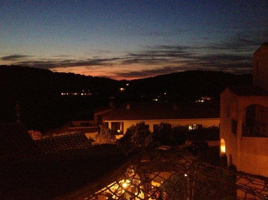Hotel Arathena: vue de notre chambre