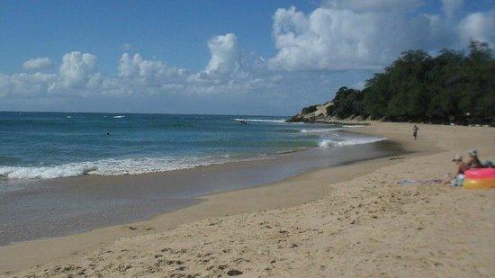 Areia Branca Lodge: Tofo beach