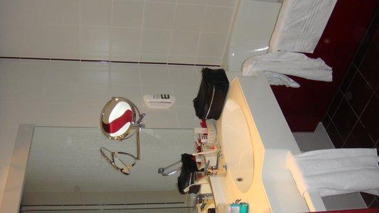 Mercure Bregenz City: NAsszelle Zimmer 238
