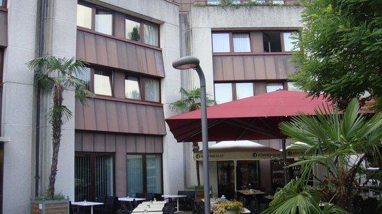 Mercure Bregenz City: Sicht auf die Fassade mit Zimmer 238
