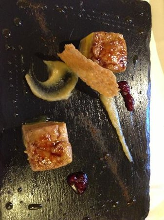 Restaurante Elkano: Foie mi cuit