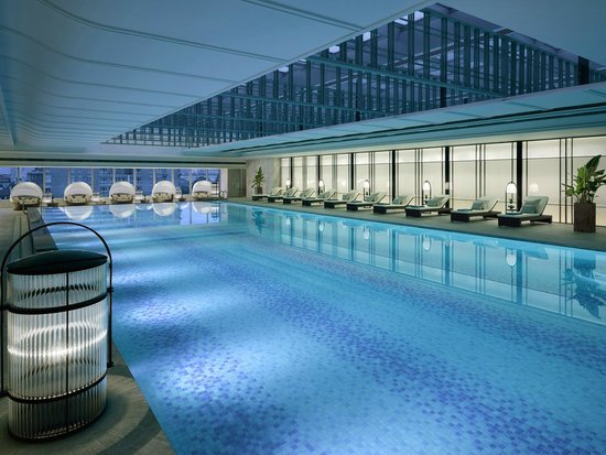 Swimming Pool - Picture of Jing An Shangri-La, West Shanghai, Shanghai - TripAdvisor