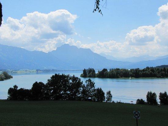 Forggensee: lago estivo