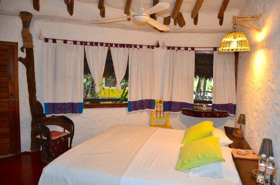 "Holbox Hotel Mawimbi: chambre ""dauphins"""