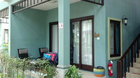 Chaweng Garden Beach Resort: Room enterance