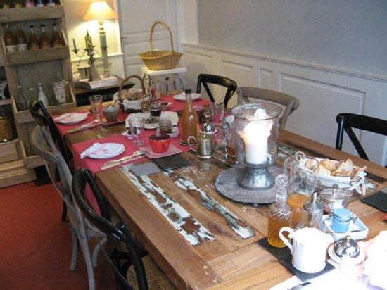 La Maison Bizienne : la prima colazione