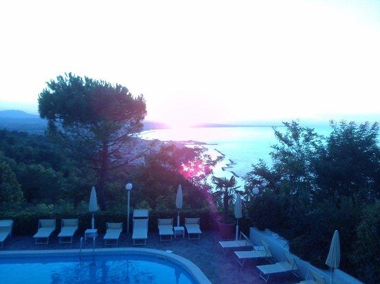 Hotel Posillipo Gabicce Monte: vista dalla camera 208