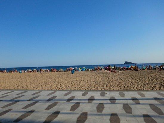 Hotel Internacional: playa al amanecer
