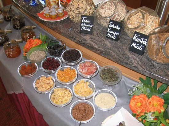 Akzent Hotel Möhringer Hof: unser Frühstücksbuffet