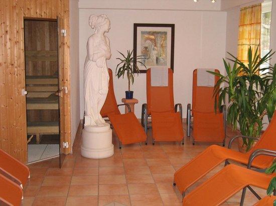 Akzent Hotel Möhringer Hof: unsere Liegen im Saunabereich