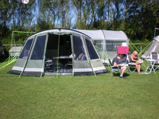 West Fleet Holiday Farm Campsite: Paddock D4 again