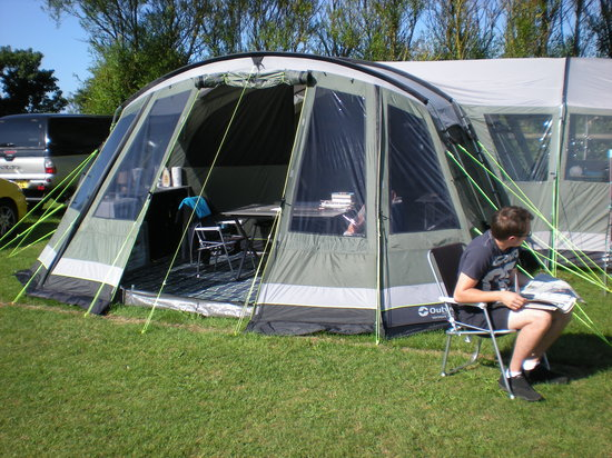 West Fleet Holiday Farm Campsite: And yet again paddock D4