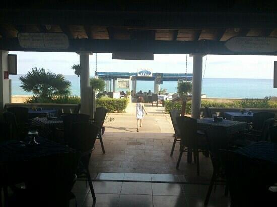 Ca'n Pere: vistas del restaurante desde el interior