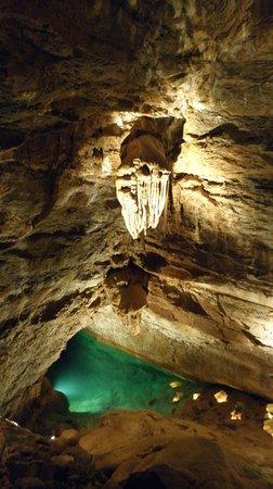 La Grotte de Trabuc : Le clou de la visite