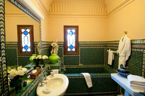 Dar Ayniwen Villa Hotel : Mucha Suite Bathroom