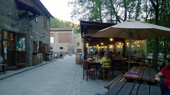 Ristorante Badia di Moscheta: ristorante, cucina e bar