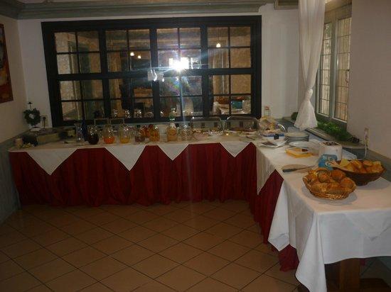 Hotel Zur Laube: Déjeuner