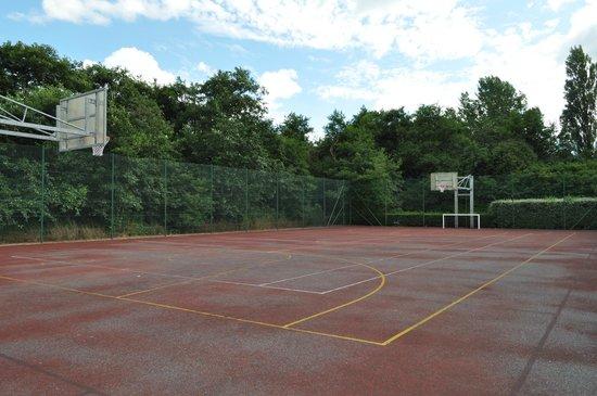 Domein Westhoek : terrain de basket
