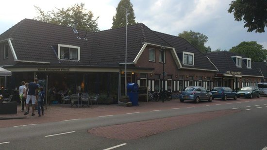 Hengevelde, The Netherlands: View of the restaurant building