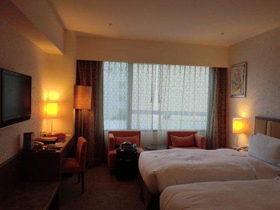 Taipei Garden Hotel: ツインルームでした