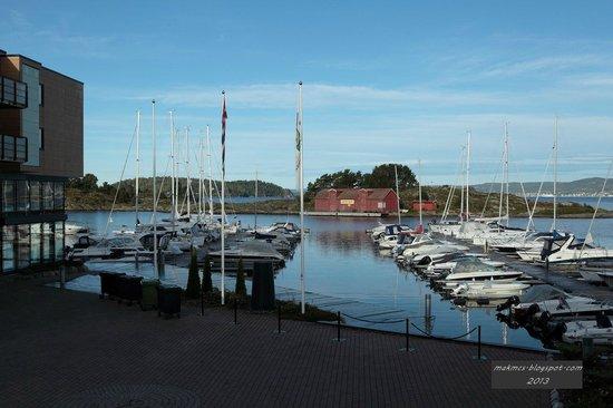 Son Spa: Marina view