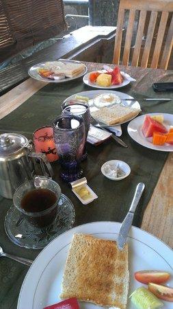 Ubud Dream : petit déjeuner