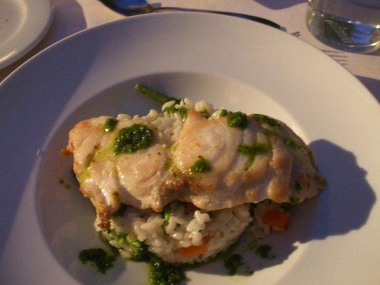 Aimia Hotel: Delicious fish dish