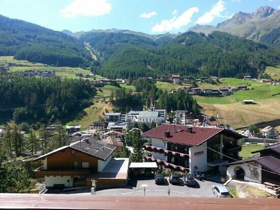 Pension Andreas : panorama dal balcone della camera