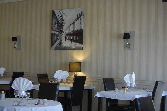 Le Relais du Bas Limousin: salle de restaurant