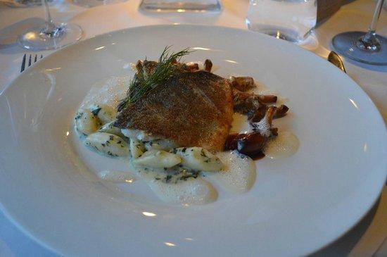 Das Schick: Hauptgang mit Fisch
