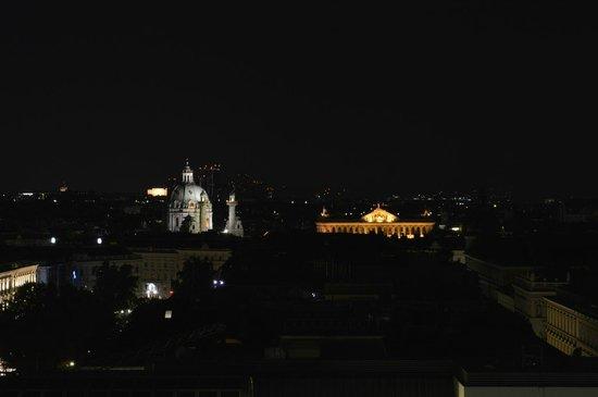 Das Schick: Ausblick von der Terrasse