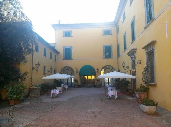 Villa Sonnino: ingresso