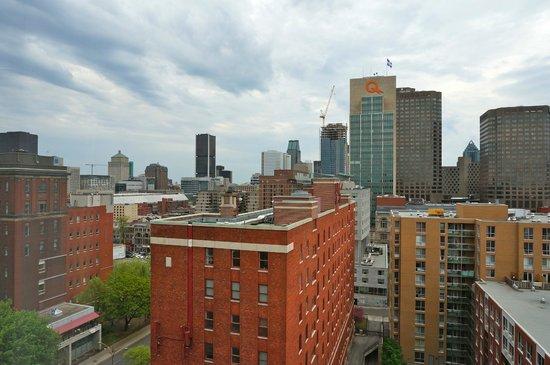 Candlewood Suites Montreal Centre-Ville : vue de la chambre